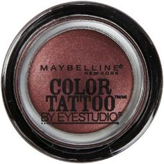 Amazon.com: Maybelline 24 Hour Eyeshadow, Pomegranate Punk, 0.14 Ounce: Beauty