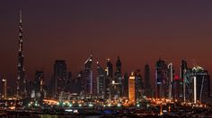 Foreign investments: Why Indians will be Dubai's top foreign realty investors Dubai City, Dubai Hotel, Dubai Wallpaper Hd, City Wallpaper, Seattle Skyline, New York Skyline, Dubai Nightlife, Night Skyline, Night City