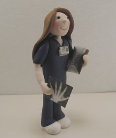 Custom order for Carrie P.  - Xray Tech- Professional Figurine via Etsy