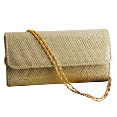 Padoora Wedding Evening Party Small Clutch Bag Bridal Purse Handbag Cross Body Bag Gold * Visit the image link more details. Note:It is affiliate link to Amazon.