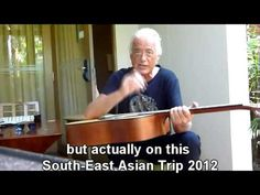 Jimmy Page...playing, autographing, speaking and donating his guitar in Pattaya, 2012. Love this....