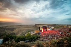The best place ever to see a concert! The Gorge at George, Washington.