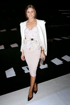 Paris Fashion Week: Olivia Palermo At Nina Ricci