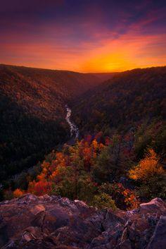 ~~Take me home | autumn, Pendleton Overlook, Blackwater Falls State Park, West Virginia | by porbital~~