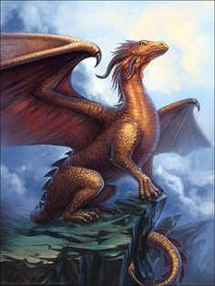 Behold a dragon