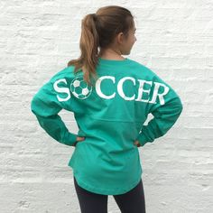 SOCCER Graphic Football Jersey Pullover