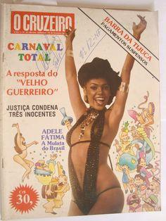 Revista O Cruzeiro 12 Fev 80 Carnaval Chacrinha Adele Fátima - R$ 30,00 no MercadoLivre