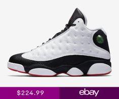 c6039faf8ca Air Jordan Retro 13 XIII He Got Game Mens 414571-104 white black red sz 8-14