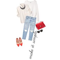 """simple like that"" by frutini on Polyvore"