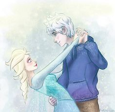 """I can't dance."" Elsa said ""What???"" Jack looked shocked ""Well spending your whole life in your room doesn't give you much time to learn..."" She told him. Jack reached his hand out. ""I'll teach you then."" Elsa smiled and took his hand."