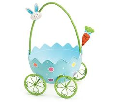 Blue or Pink Easter Egg Wagon Adorable Easter Decor with Easter Bunny Accent (Blue) Burton & Burton,http://www.amazon.com/dp/B00J3T9EAQ/ref=cm_sw_r_pi_dp_nkCltb07F2GEMJK9