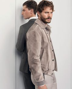 Jamie Dornan in the new Ermenegildo Zegna Spring Summer 2014 Advertising campaign by designer Stefano Pilati - 14