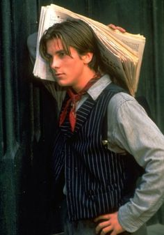 """90s - - - There are flaws in this film, """"Newsies,"""" but Christian was great, as usual."""