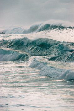 """""""I never liked the water very much, at least not the water I knew . . ."""" Water Waves, Sea Waves, Costa, Paysage Sublime, Surfs Up, Welt, Ocean Life, Planet Ocean, Marina"""