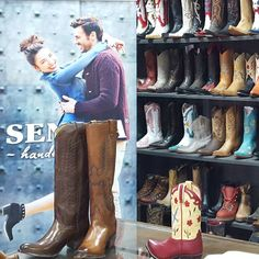 """286 Likes, 6 Comments - SENDRA BOOTS (@sendra_boots) on Instagram: """"#Sendra exhibition in our factory in Almansa. More than 100 year a of history.  #sendra…"""""""