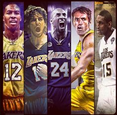 The 2012-2013 Starting Five for your Los Angeles Lakers...