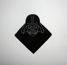 Wool Felt Darth Vader Corner Bookmark, Corner Bookmark,  Star Wars Bookmark, Birthday Gift, Teacher Gift, School Bookmark, Handsew Bookmark by NitaFeltThings on Etsy