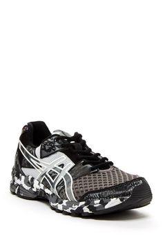ASICS Gel-Noosa Tri 8 Running Shoe: Black Camo