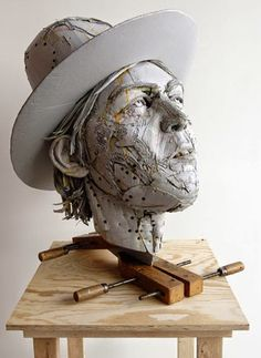 Scott Fife - of paper and things: paper arts | cardboard sculpture