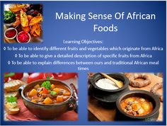 This lesson allows students to identify different fruits and vegetables which originate from Africa. They sample the foods and give a detailed description of specific fruits. They also have the opportunity to compare differences between ours and traditional African meal times