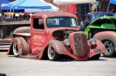 Rat Rod pickup by scott597, via Flickr