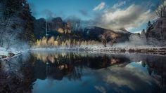 Yosemite Winter reflection by Angela Chong - Photo 132784153 - 500px
