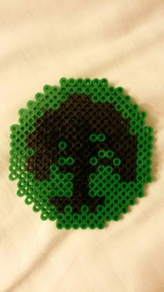 Forest - magic the gathering perler beads