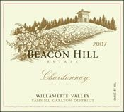 We will be serving Beacon Hill Chardonnay as a table wine selection for all guests.
