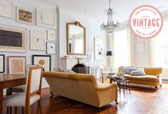 Vintage Decor: New York Townhouse Living