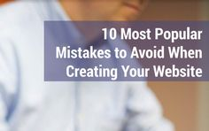 10 Most Popular Mistakes to Avoid When Creating Your Website http://www.templatemonster.com/blog/free-ebooks-motocms/