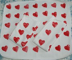Heart bamboo insert for clothdiapers (8.00 EUR) by leonorafi