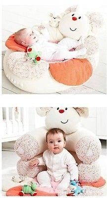 New Inflatable Seat Baby Mouse Play Mat Game Pad Blossom Farm Sit Me up Cosy