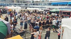 Kodbyens: Copenhagen Meatpacking District Food & Market. Saturdays, including September 10. 10 AM - 1 PM