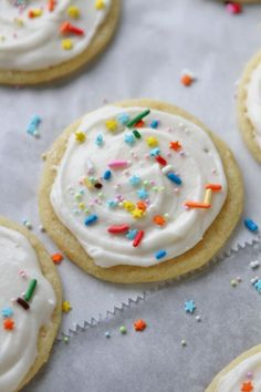 Bakery-Style Soft Baked Sugar Cookies