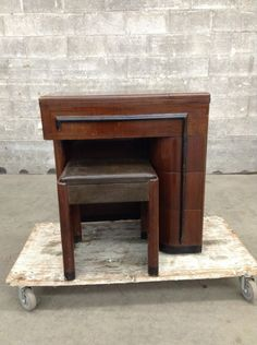 ART DECO GROUPY! love this! Singer No. 42 Sewing Machine Cabinet | Second Use, Seattle: Building Materials, Salvage, & Deconstruction
