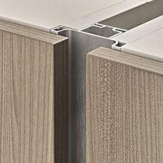 Kitchen Doors, Kitchen Cabinets, Moulding Profiles, Woodworking Industry, Hidden Kitchen, Furniture Handles, Kitchen Cabinet Design, Drawer Handles, Furniture Design