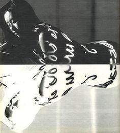 Mark Guillamot Vivian Wu in Peter Greenaway's 'The Pillow Book' Joy Of Life, Pink Elephant, Dance Art, More Photos, Art Boards, Tribal Tattoos, My Images, Sculpture, Lettering