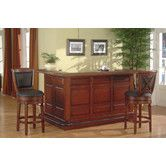 Found it at Wayfair - Manchester Return Bar in Burnished Cherry