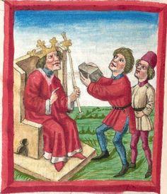 Deutsche Bibel AT, Bd. 1 (Gen. - Reg., Psalter) Bd. 2 (Paralip. - Malachias und einzelne Prologe) - BSB Cgm 503, Regensburg, um 1463 Folio