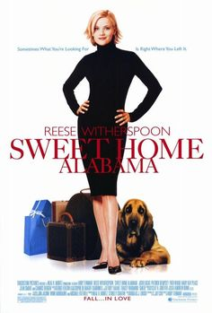 Sweet Home Alabama Movie Poster x 17 Inches - x Style A -(Reese Witherspoon)(Josh Lucas)(Patrick Dempsey)(Candice Bergen)(Mary Kay Place)(Fred Ward) Patrick Dempsey, Reese Witherspoon, Josh Lucas, Sweet Home Alabama Film, Movies Showing, Movies And Tv Shows, Films Cinema, Kendall, See Movie