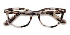 Messenger - Oval Striped Frame Glasses For Women Glasses Frames Trendy, Cute Glasses, New Glasses, Cat Eye Glasses, Glasses Style, Funky Glasses, Best Eyeglass Frames, Fashion Eye Glasses, Cat Eye Frames