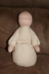 Heavy Waldorf baby doll, how to picture tutorial Organic kids Products http://organicproducts.gr8.com