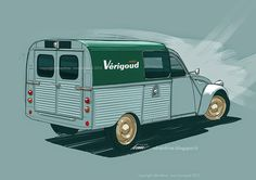 "Citroën 2CV ""Vérigoud""   | ^ https://de.pinterest.com/a2cv4me/citroen/"