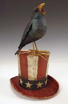 American Chestnut Carvings :: Let Freedom Ring :: Peter Bretz Americana Carvings
