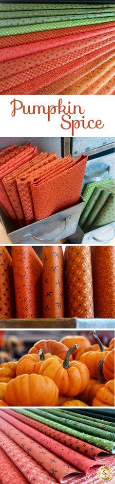 Blossom Lane Coupon de tissu Patchwork Andover carreaux orange brun 45 X 55 cm