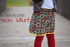 Adorable corduroy skirt  http://mommybydaycrafterbynight.blogspot.com/2011/11/not-so-mini-mini-skirt-tutorial.html