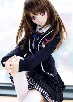 Custom DD Rin Shibuya [ white dolly story ]