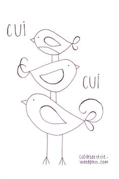 free embroidery pattern by Bouclenoire, via Flickr