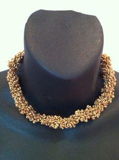 Mini golf beaded necklace