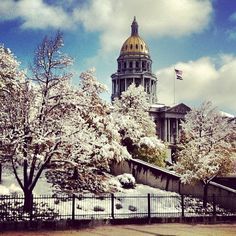 Capitol Hill - Denver, CO. The neighborhood is bounded by Colfax Ave. to the north and 8th Ave. to the south.